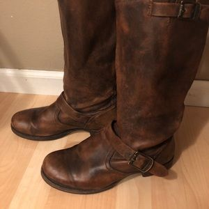 Frye Veronica slouch wide calf size 9